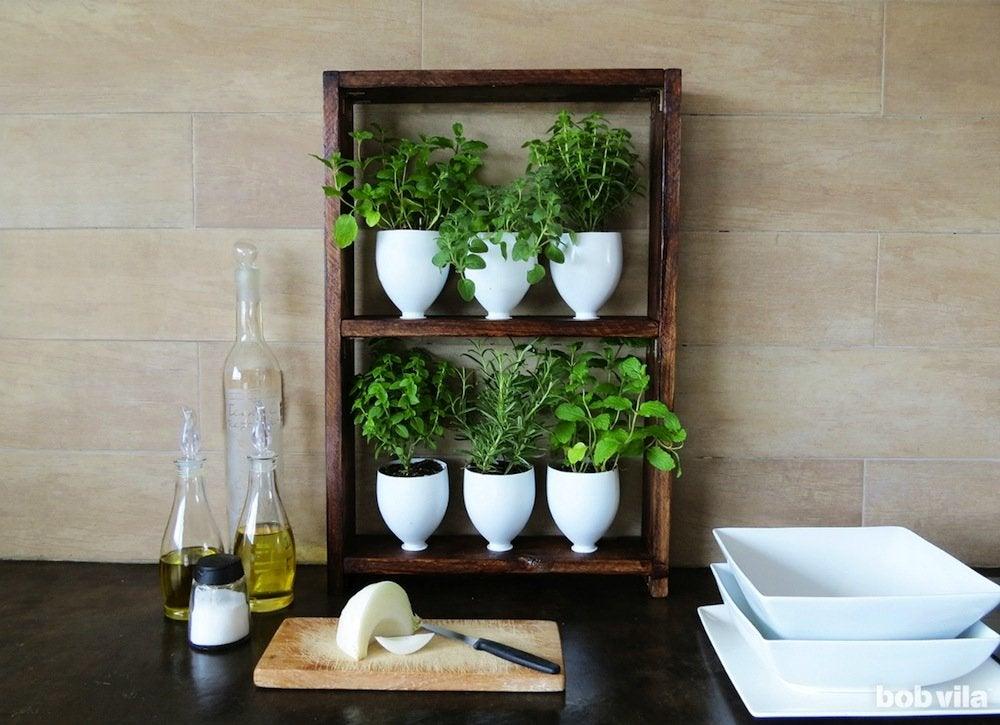 Diy herb garden bobvila
