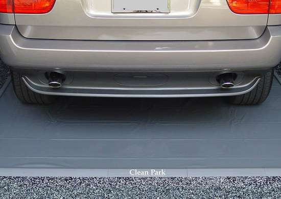 Check snow and slush   car mat