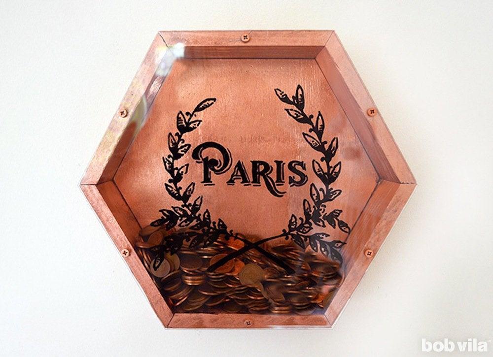 Copper coin vault