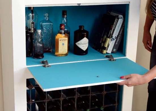 DIY Liquor Cabinet