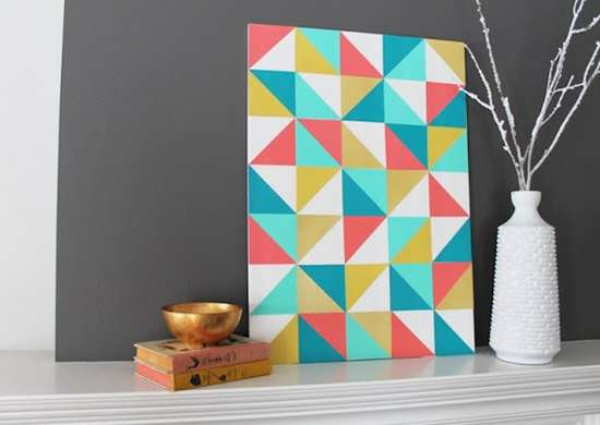 Geometric home art