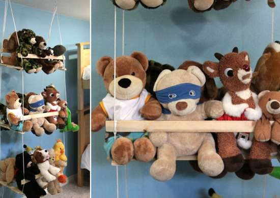 Toy storage   stuffed animals