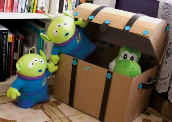 Toy storage   treasure ches
