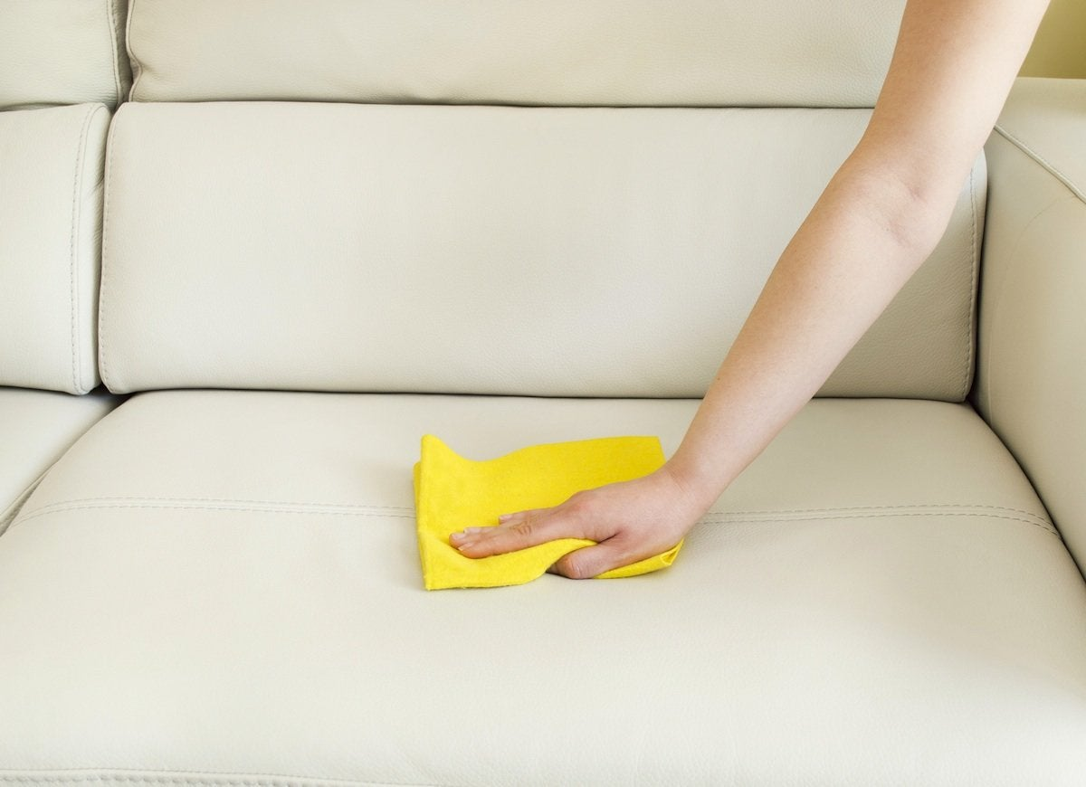 Cleaning_leather_couch
