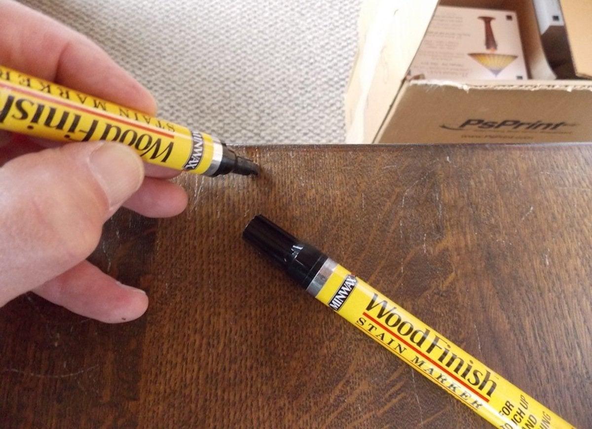 Repair wood furniture