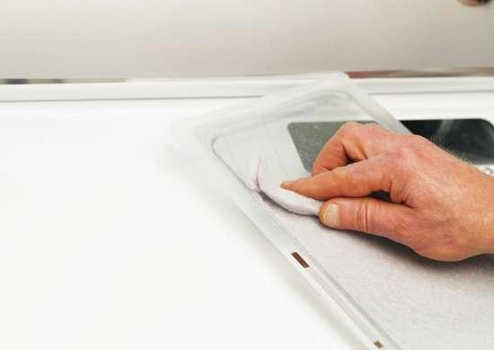 Remove dryer lint