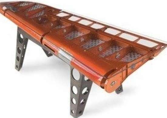 Moto art rudder desk airplane salvage bob vila20111123 36322 76j9sr 0