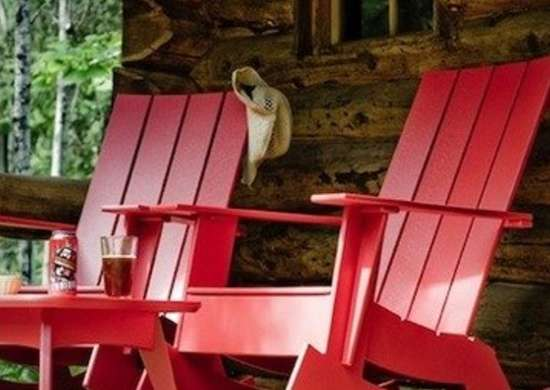 Red Chairs - Adirondack Chairs: 10 New Classics for Today - Bob Vila