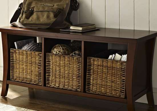 Add Storage to Your Entryway