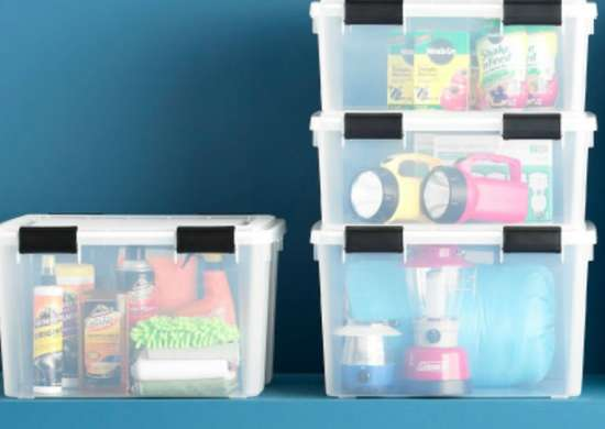 Neat freak   stackable bins