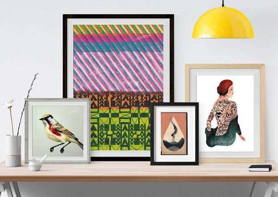 Art print subscription service