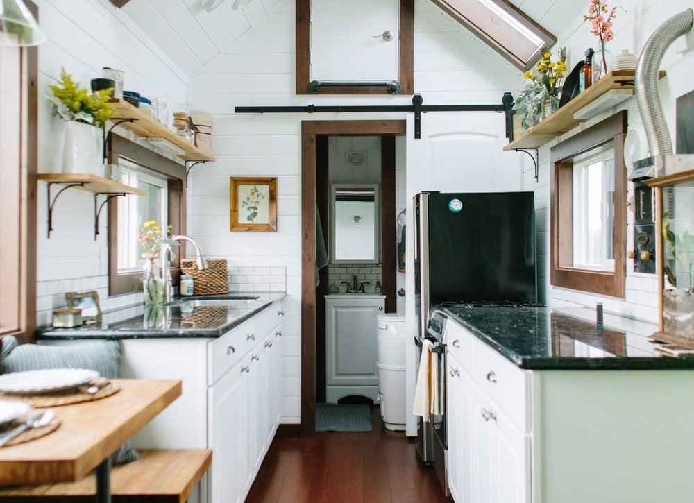 window storage - Tiny House Storage Ideas