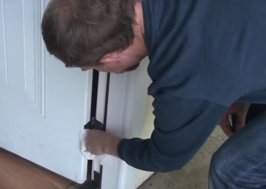 Lubricate Loud Door Hinges