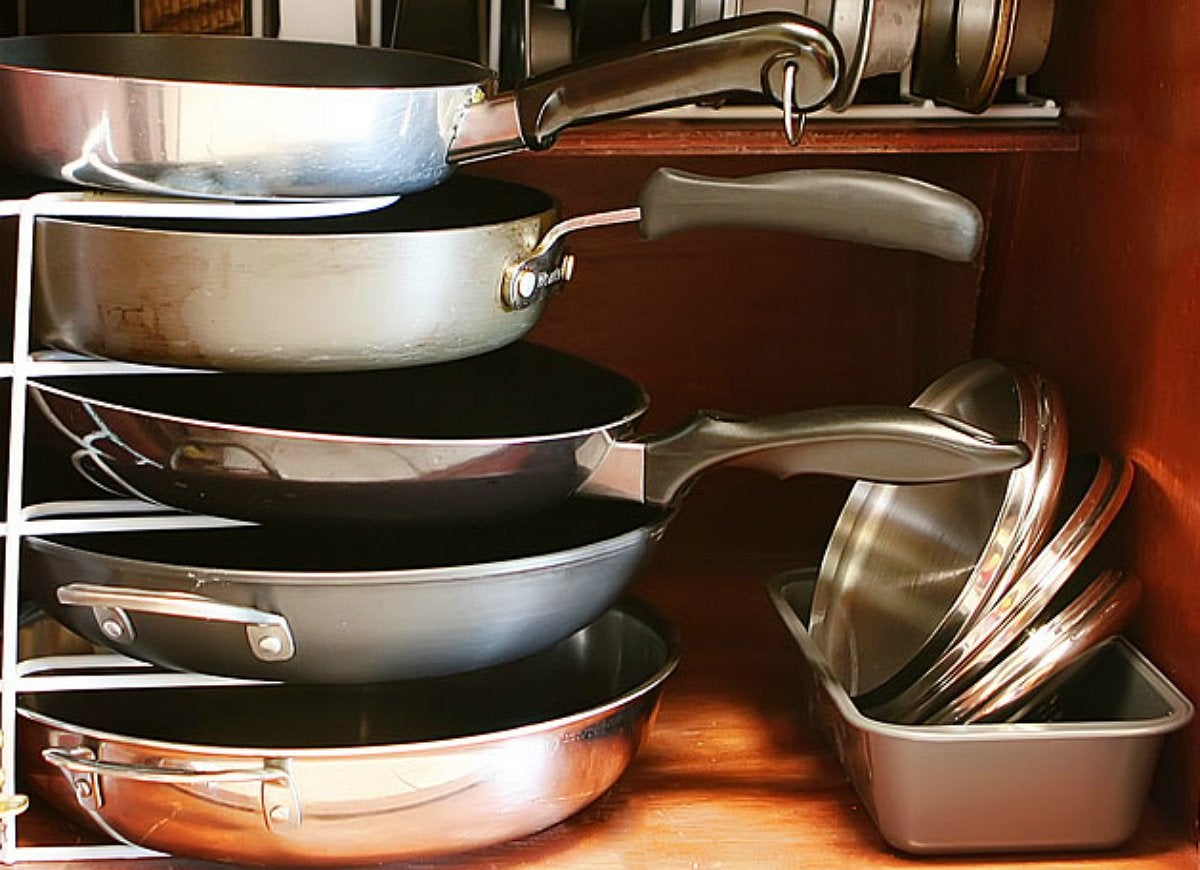 Pots and pans storage