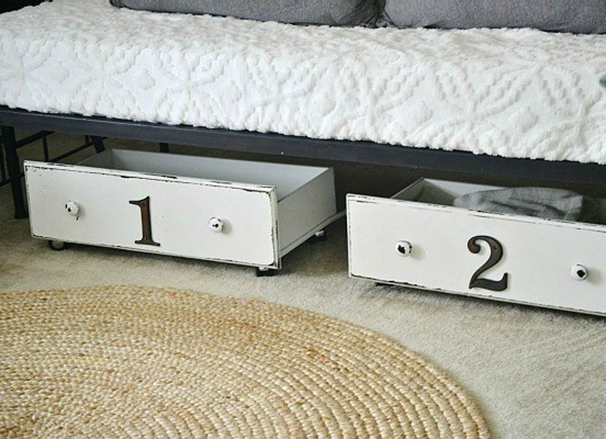 Diy-underbed-storage