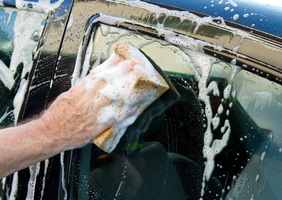 Wash the Car with Less Water