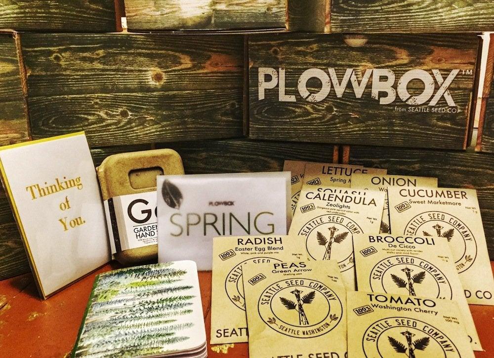 Plow box