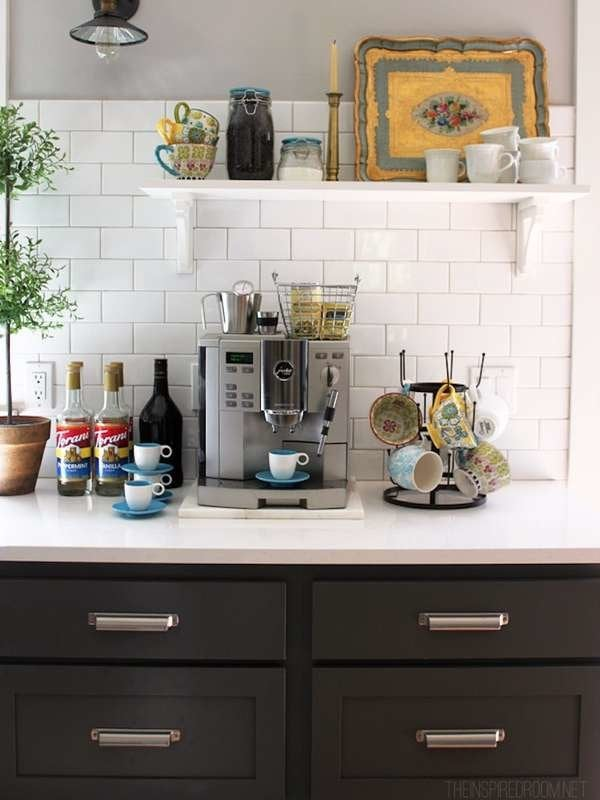 DIY Coffee Bar - Perk Up Your Home Design - Bob Vila