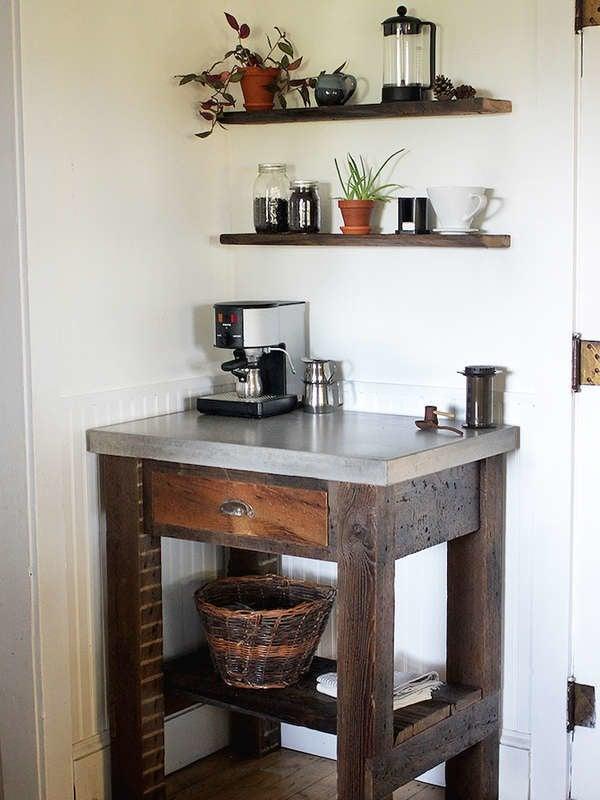 Diy Coffee Bar Perk Up Your Home Design Bob Vila