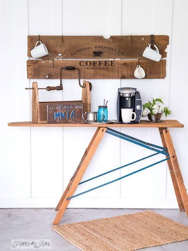 Remarkable Diy Coffee Bar Perk Up Your Home Design Bob Vila Gmtry Best Dining Table And Chair Ideas Images Gmtryco