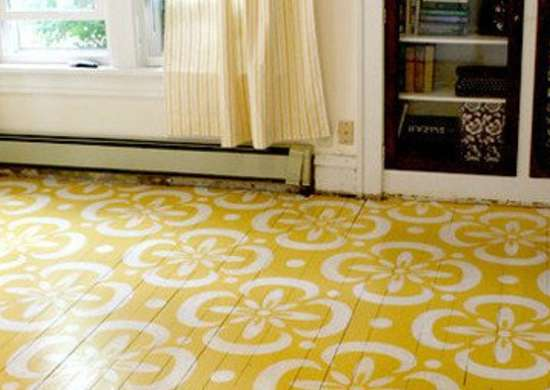 Today's Best Stenciled Floors