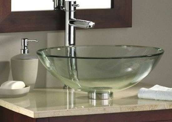 Phenomenal Vessel Sinks 10 Works Of Art Bob Vila Interior Design Ideas Clesiryabchikinfo