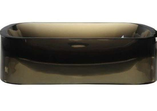 Decolav incandescence shadow resin vessel sink