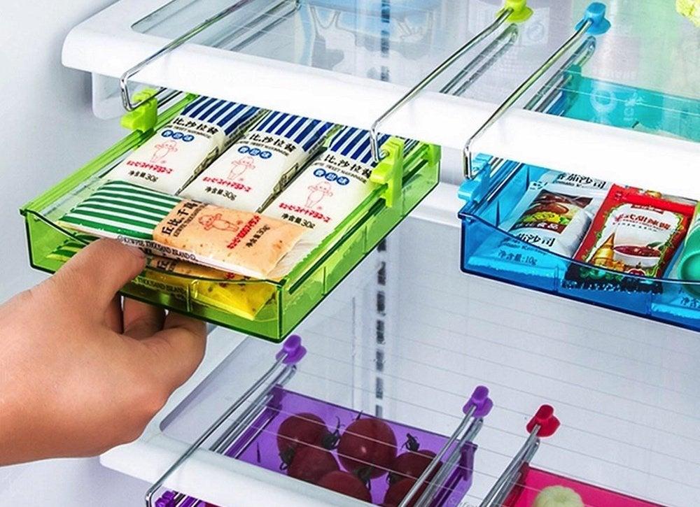 Extra fridge drawers