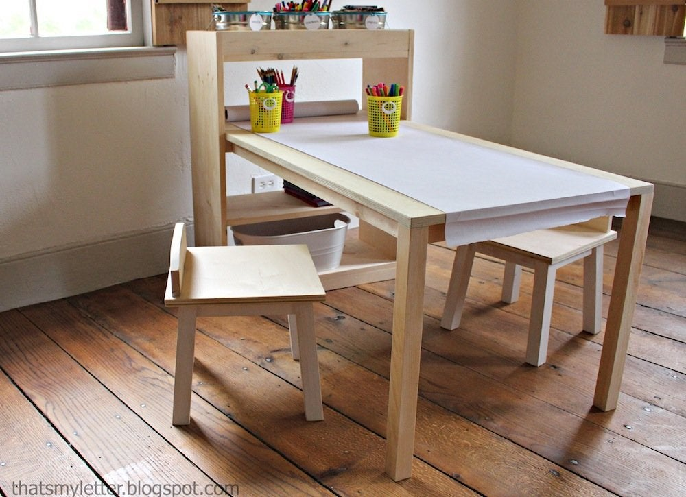 Diy kids table