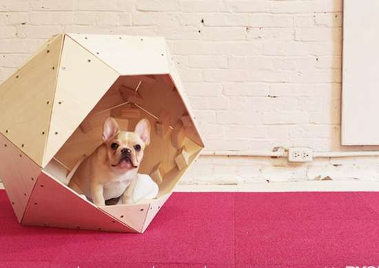 Dog House from Wood Scraps