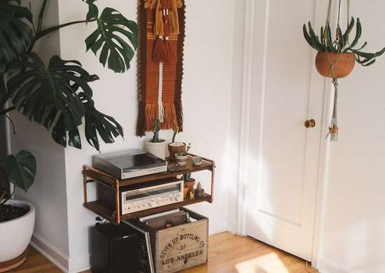 Diy-copper-shelf