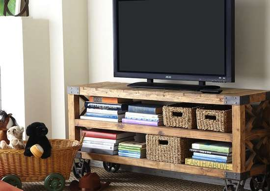 Rolling Entertainment Center
