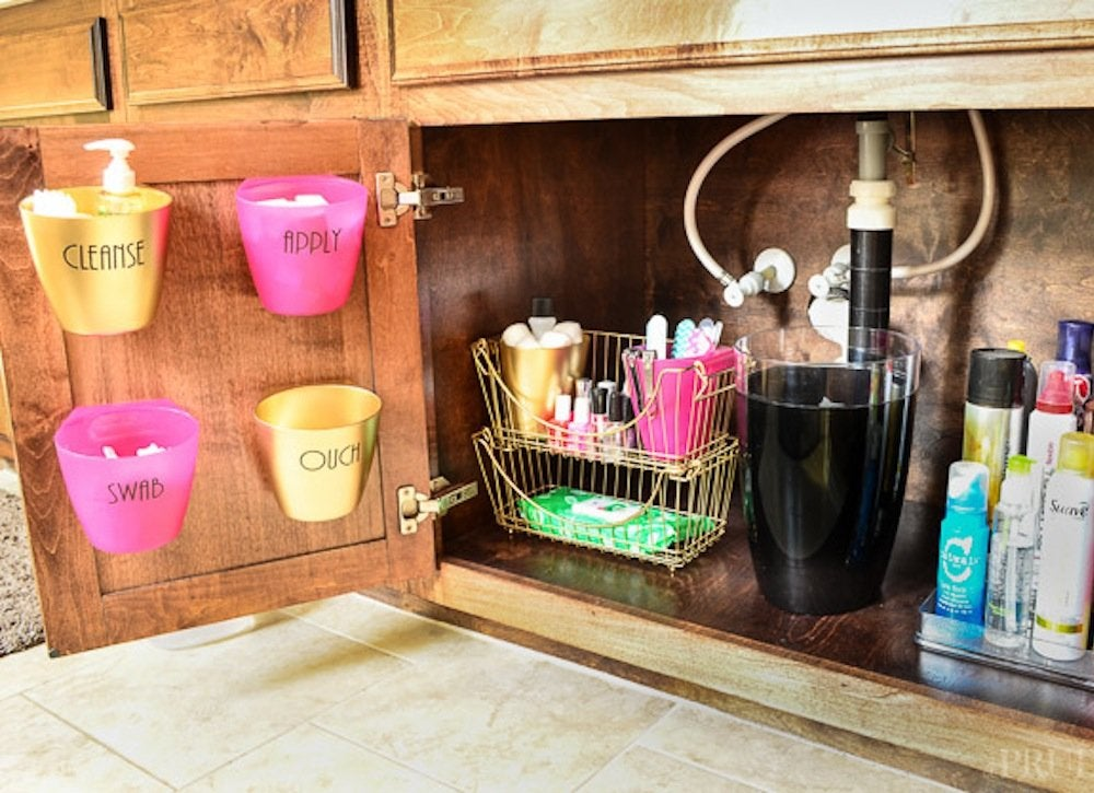 Bathroom vanity organization 23