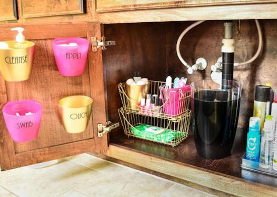 Undersink Storage in the Bathroom