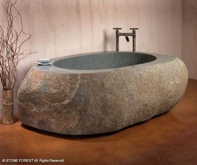 Stoneimpressions natural bathtub 1246900808 detail