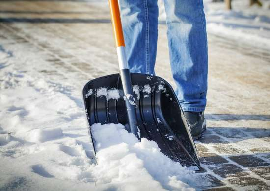 Make Snow Shoveling Easy with a Candle