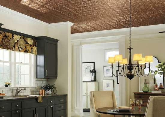 Install Tin Ceiling Tiles
