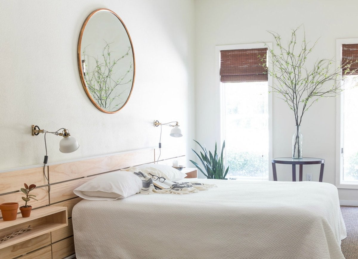 Bold And Bright Paint Or Patterned Wallpaper May Attract The Eye, But It  Can Also Subtract Space From An Already Small Bedroom. Choose A  Monochromatic Color ...