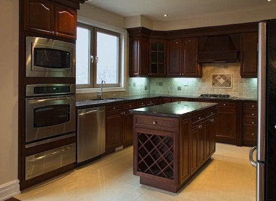 Stainless steel appliance doors
