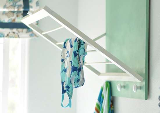 Build a Space-Saving Drying Rack