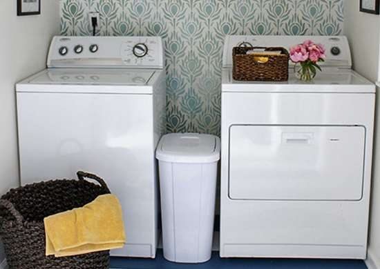 Color Your Laundry Room