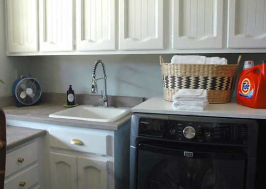Diy laundry room 7