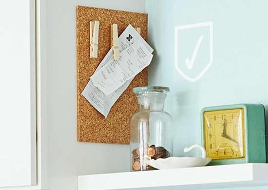 Install a Clutter Catcher