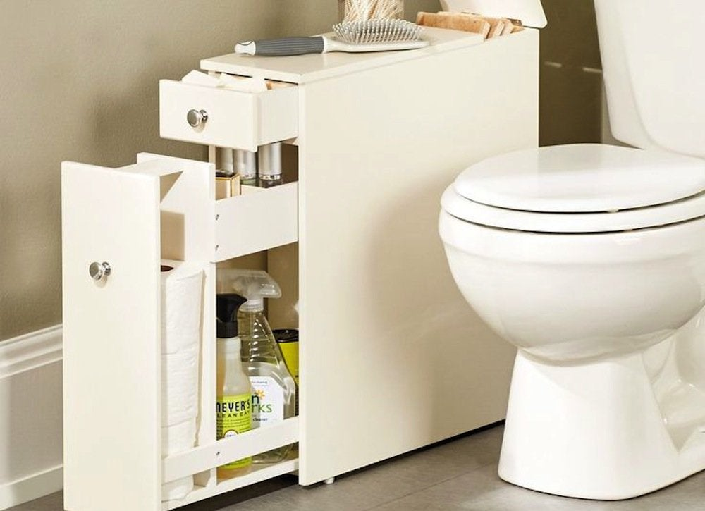 Slim Bathroom Cabinet - The 12 Best Buys for Your Tiny Bathroom ...