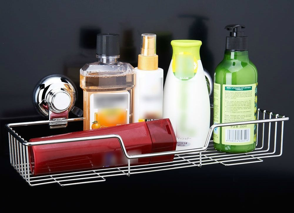 Suction cup shelf