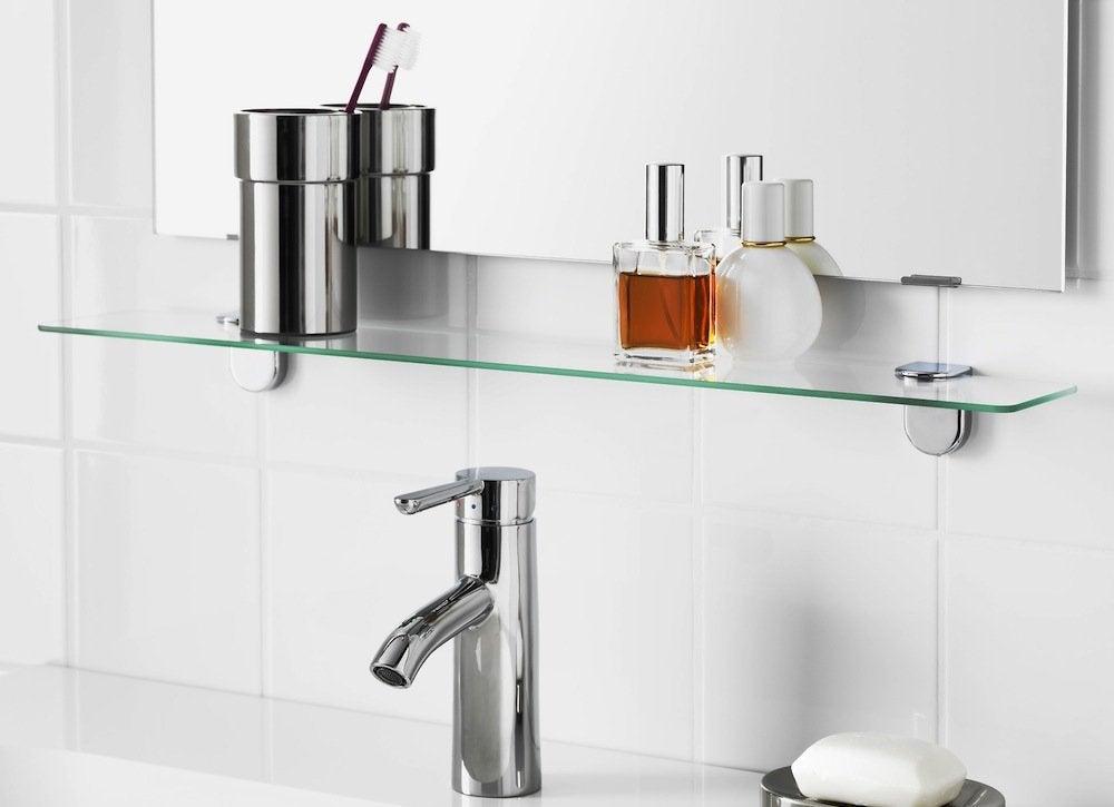 Small bath shelf