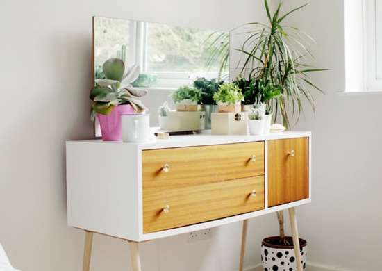 Diy midcentury modern dresser
