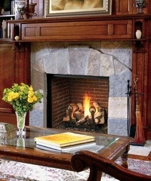 Gas fireplaces a showcase of design and innovation bob vila for Montebello fireplace