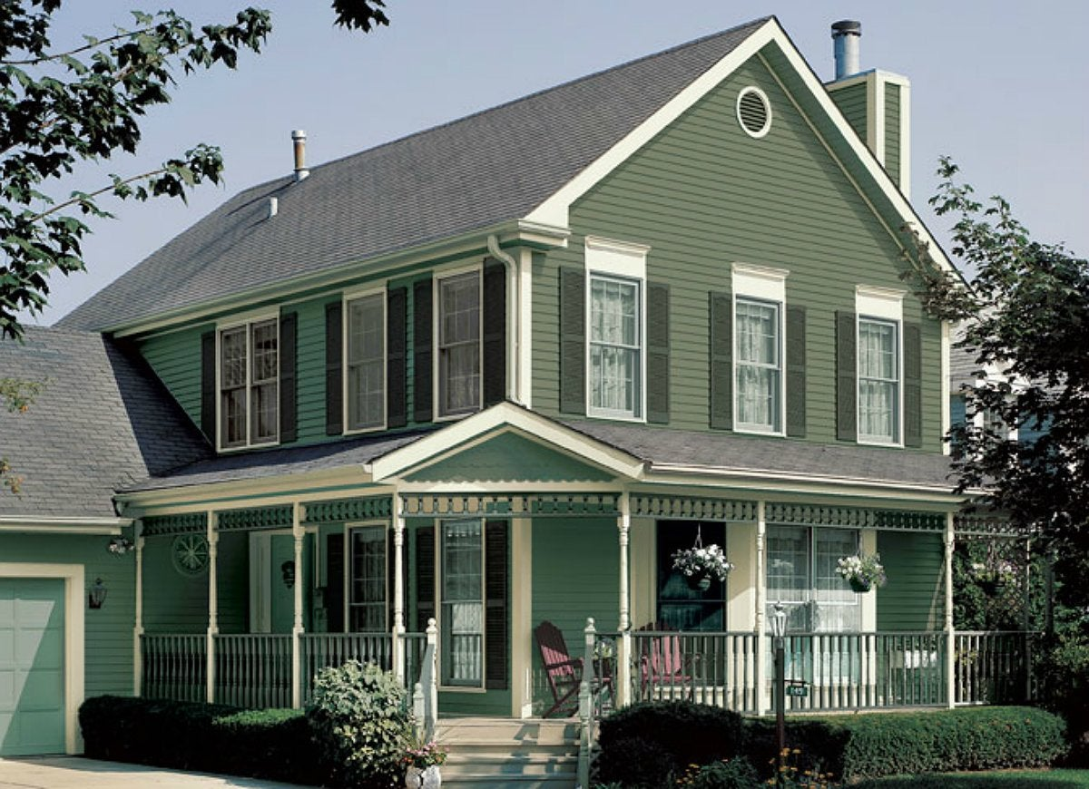 Exterior house colors 7 shades that scare buyers away for Exterior home colors