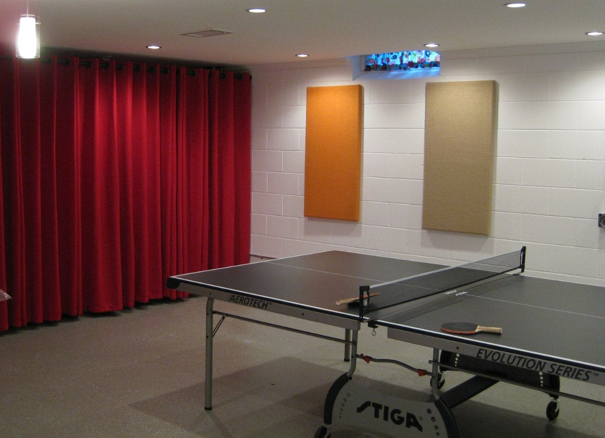 Cover Walls with Fabric Basement Design 10 Fast Fixes to Make